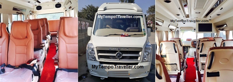 Luxury Tempo Traveller @ Rs.20 Per Km