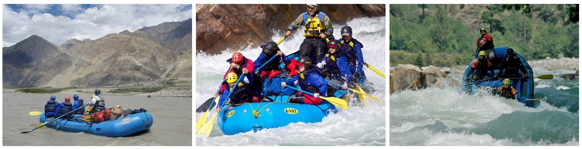 River Rafting in Rishikesh Tours