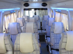 16 Seater Tempo Traveller in Delhi Noida Gurgaon @ Rs.19 Per km