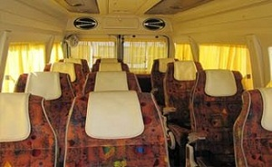 13 Seater Tempo Traveller @ Rs.17 Per km