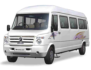 8 Seater Tempo Traveller in Delhi Gurgaon Noida @ Rs.13 Per km