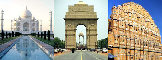 Delhi Agra Jaipur Tour Packages, Golden Triangle Tour Packages by Car